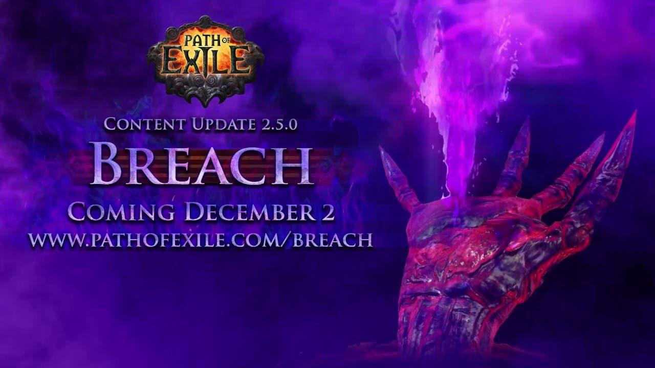 path of exile breach unleashes o
