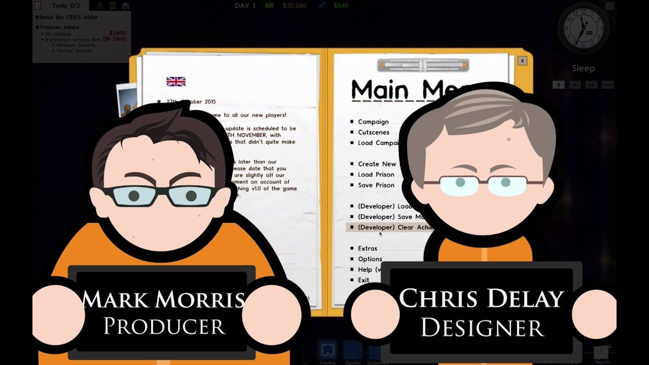 prison architect receives first