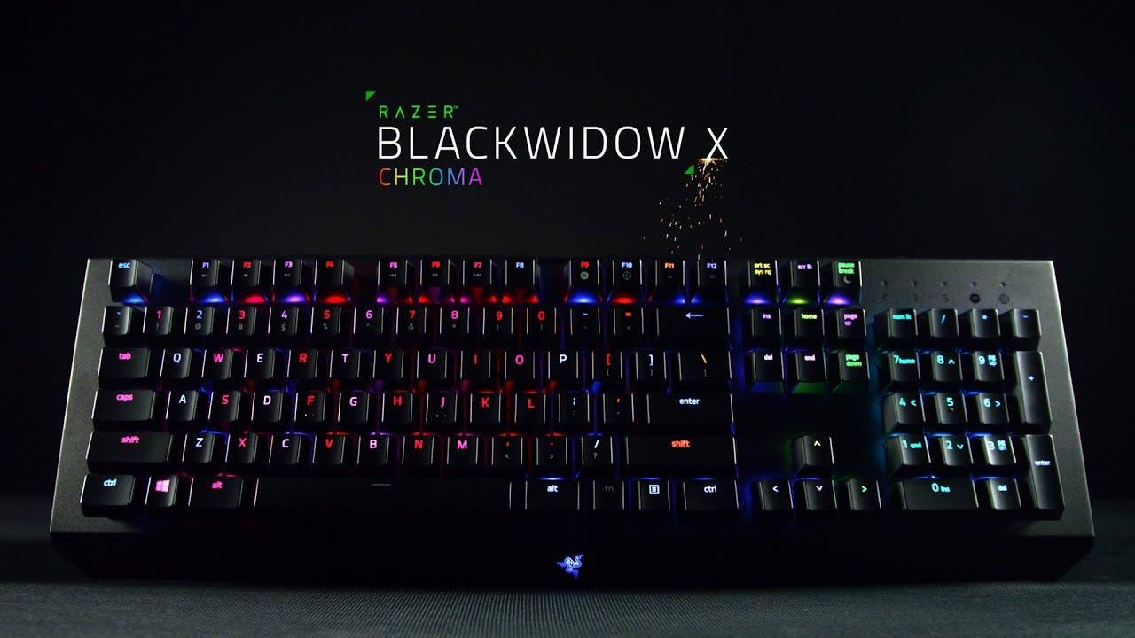 razer unveils the blackwidow x c