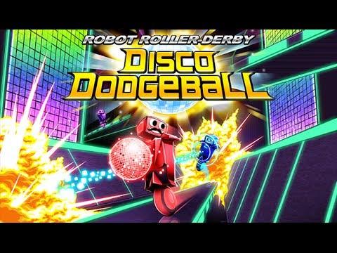 robot roller derby disco dodgeba