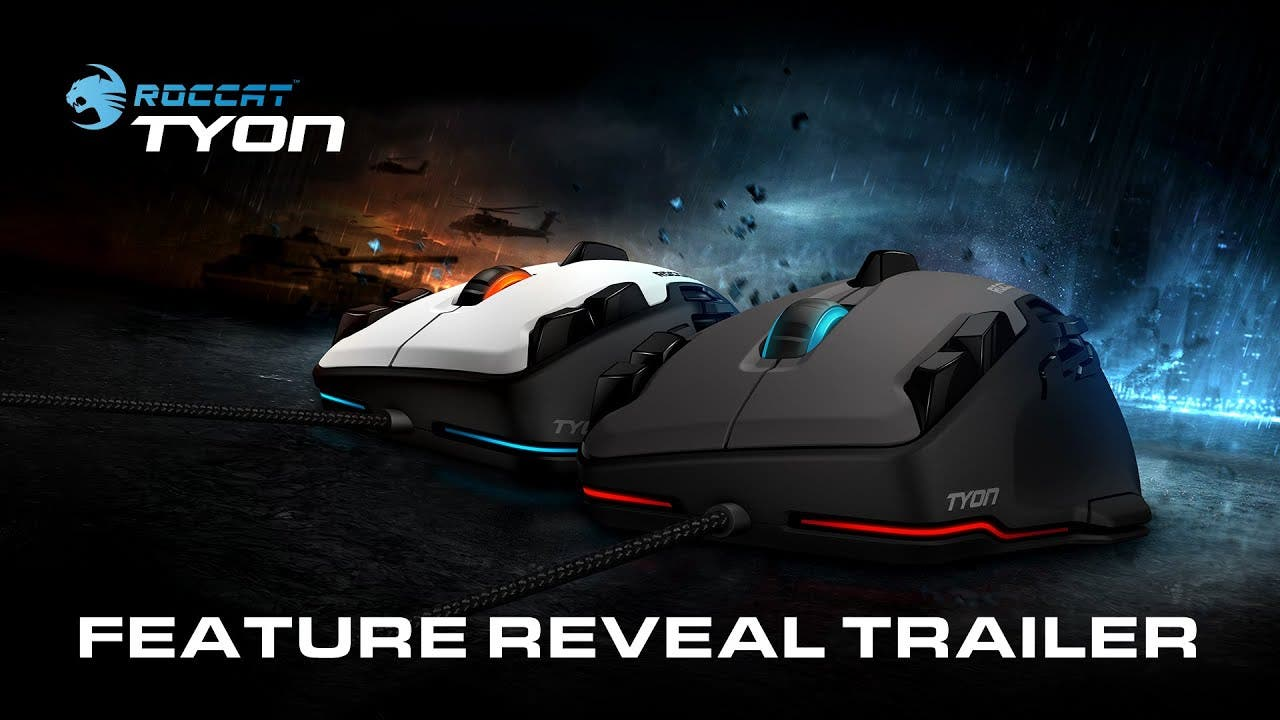 roccat tyon announced features t