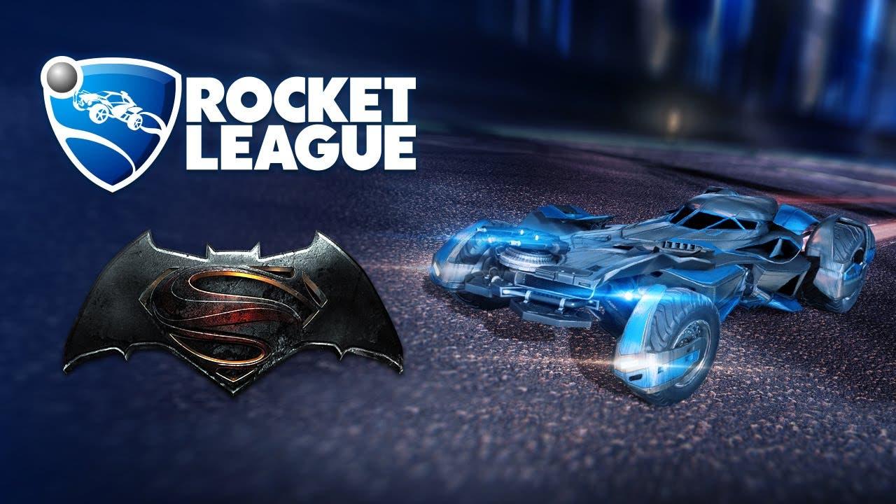 rocket league getting batman v s