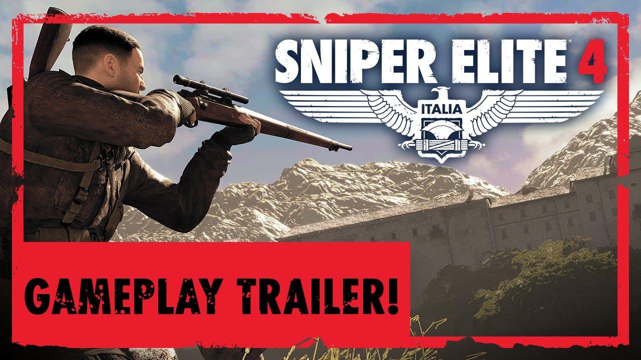 sniper elite 4 gameplay trailer