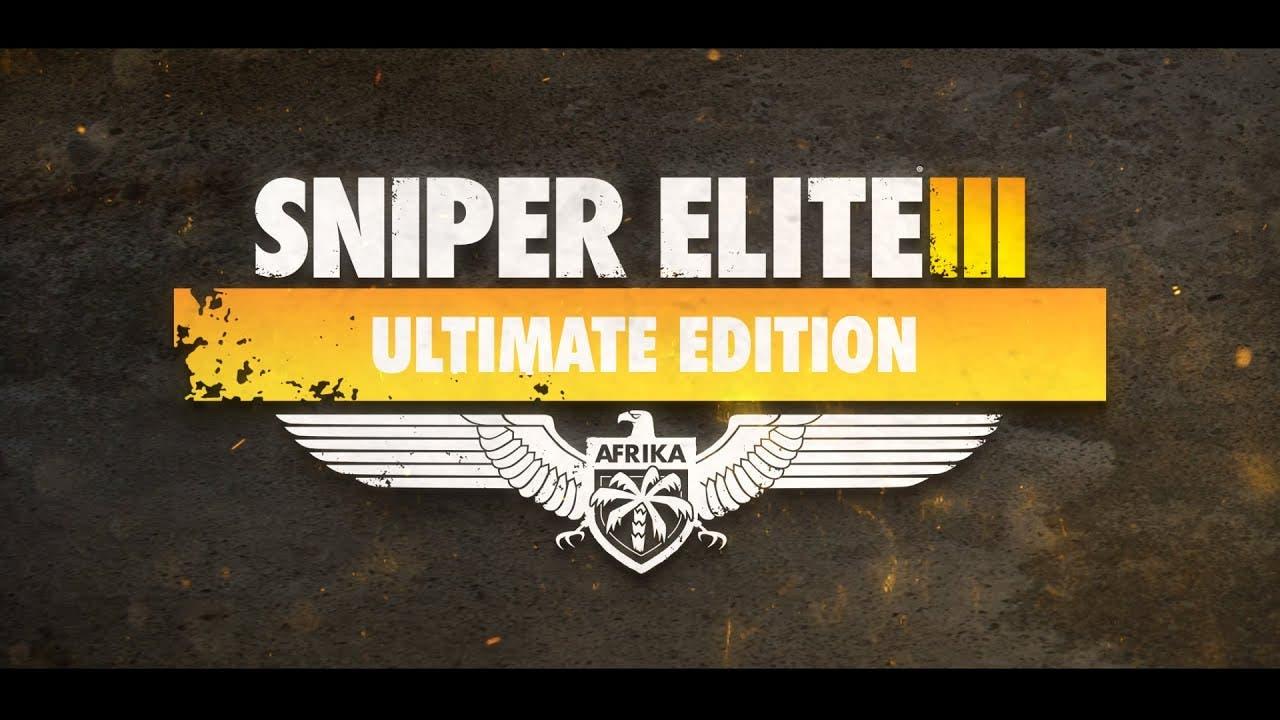 sniper elite iii ultimate editio