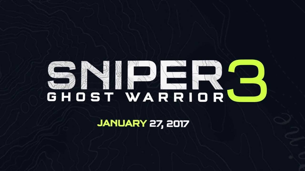 sniper ghost warrior 3 comes out
