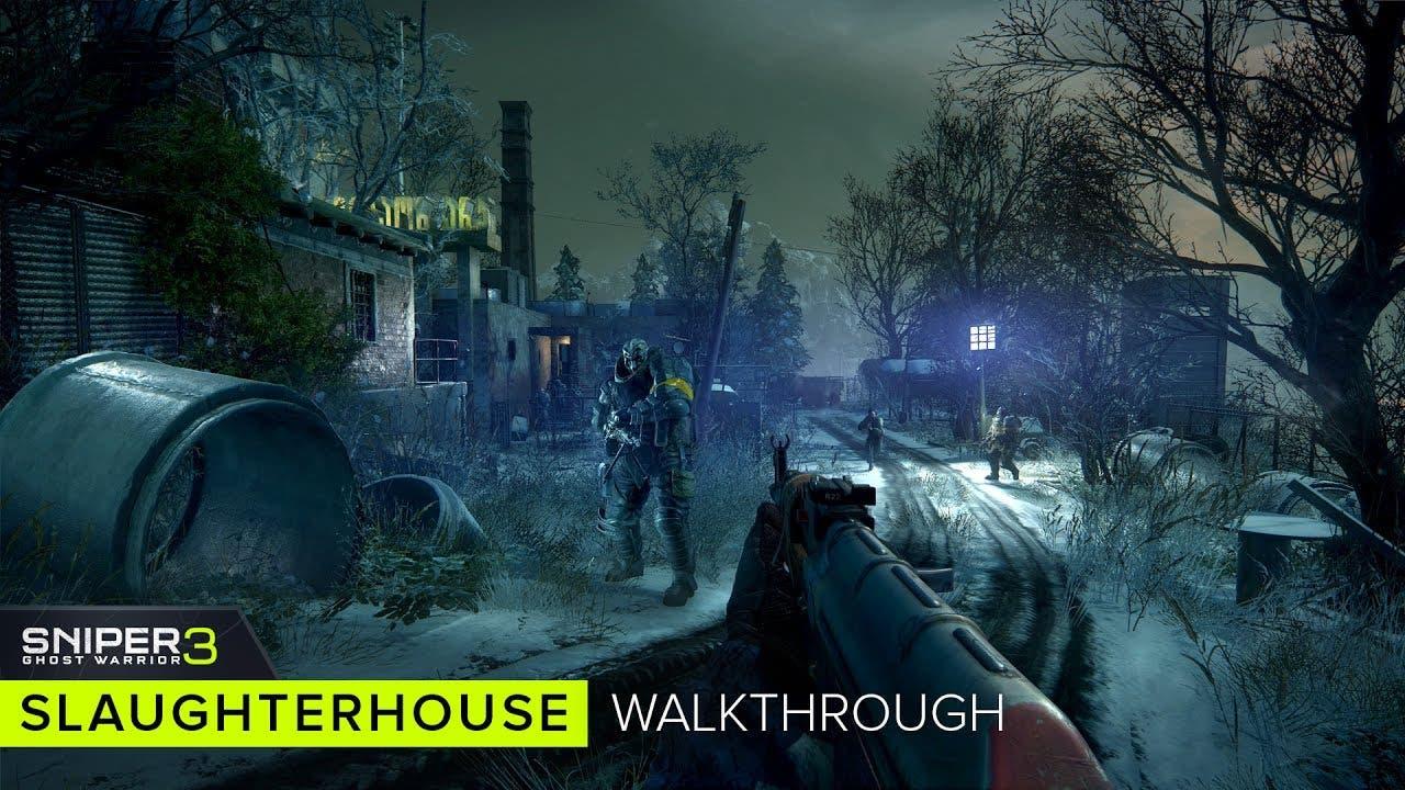 sniper ghost warrior 3 gameplay