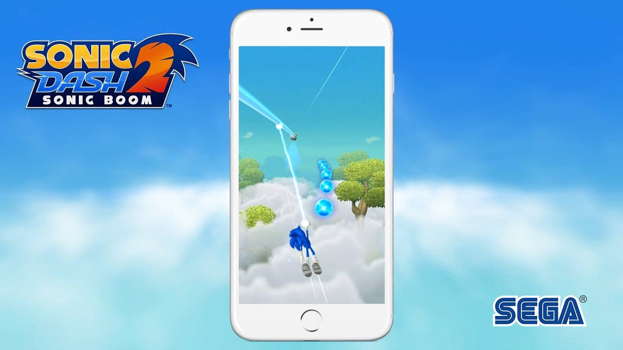 sonic dash 2 sonic boom is avail