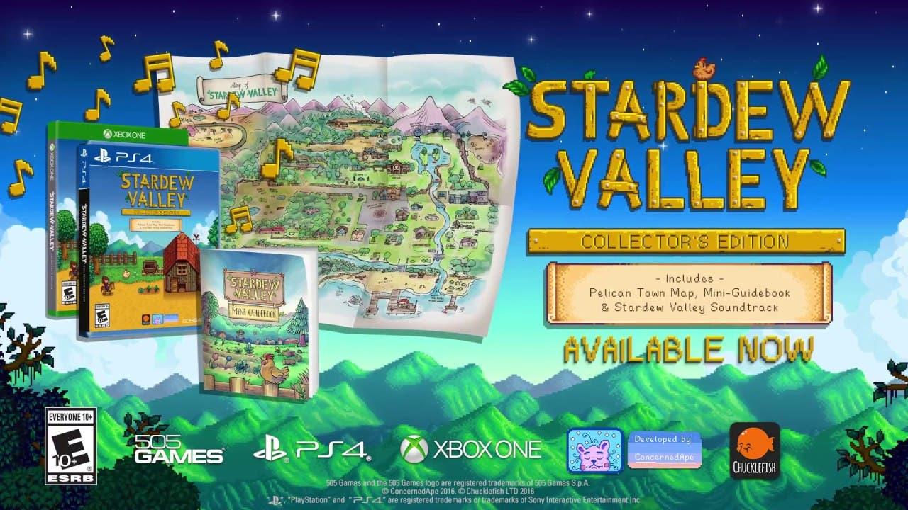 stardew valley collectors editio