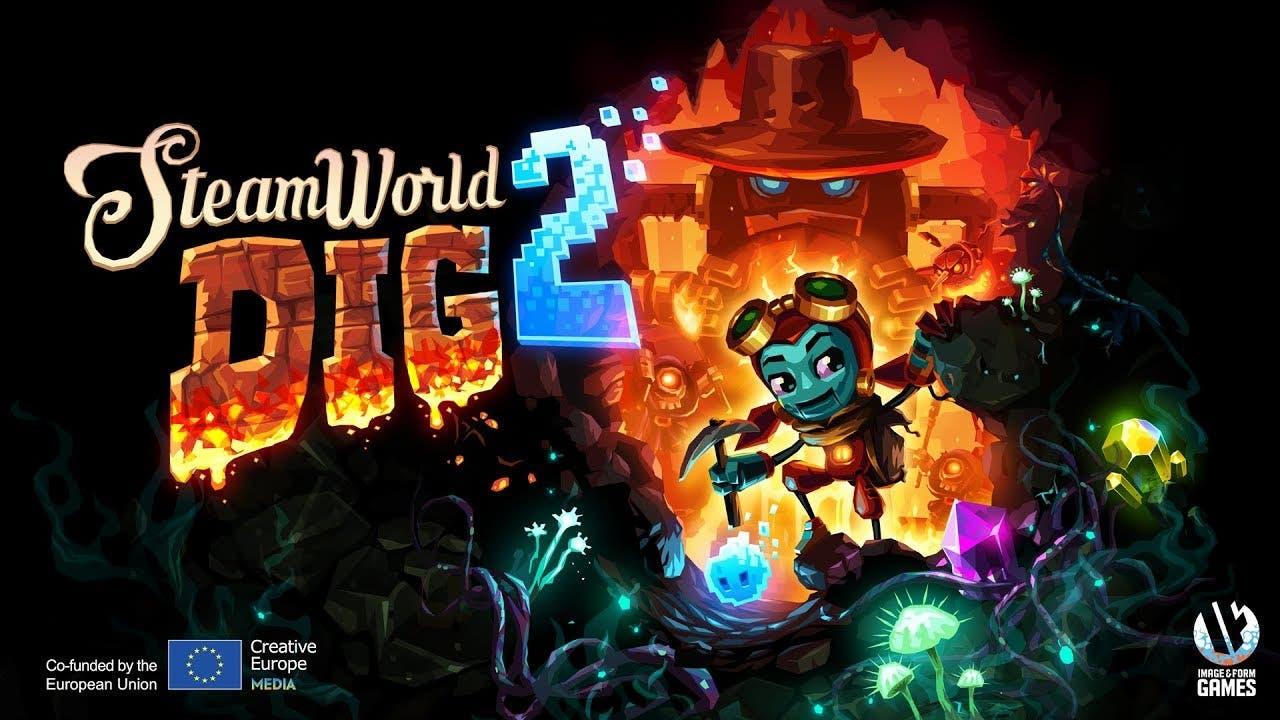 steamworld dig 2 is finally avai