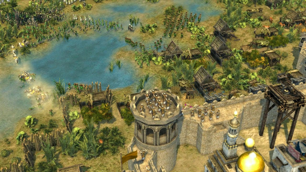 stronghold crusader 2 shows the