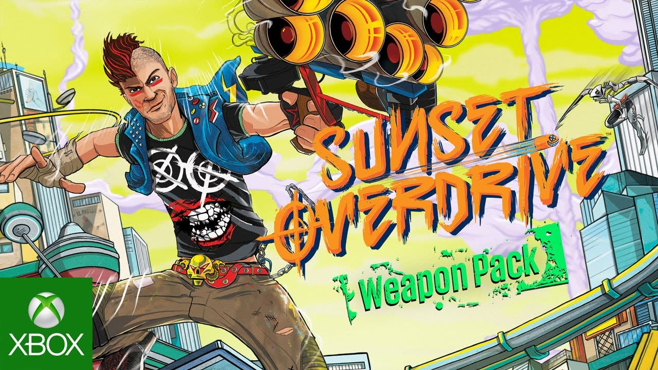 sunset overdrive gets weapons pa