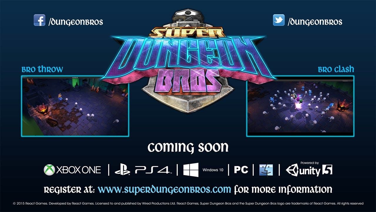 super dungeon bros coming xbox o