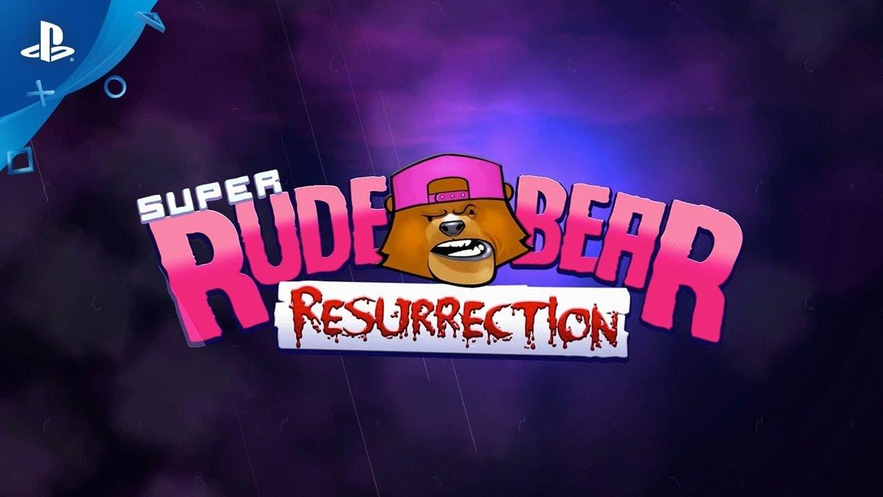 super rude bear resurrection jum