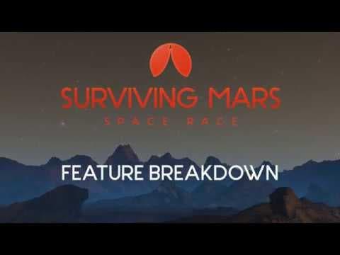 surviving mars space race video