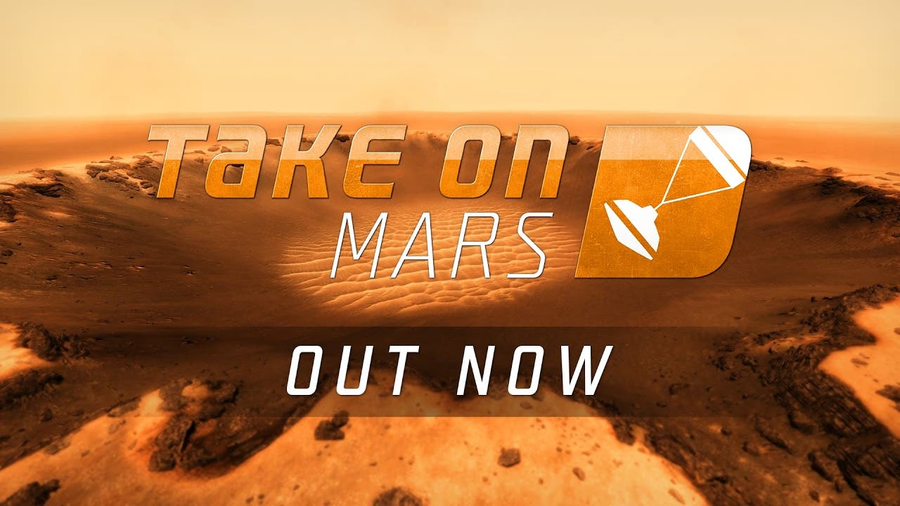 take on mars launches today in f
