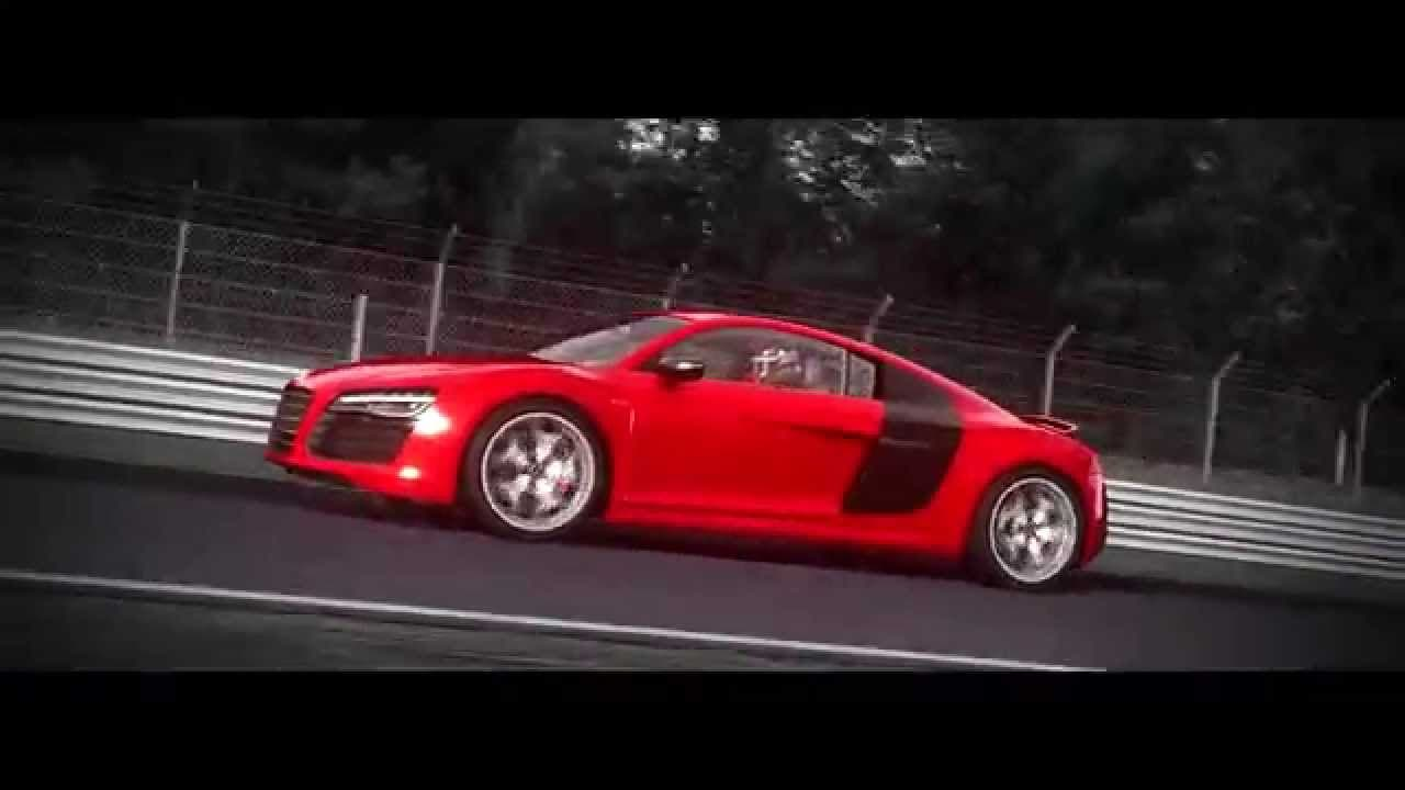the audi r8 v10 plus comes to as