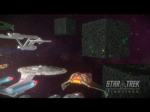 the borg are coming to star trek