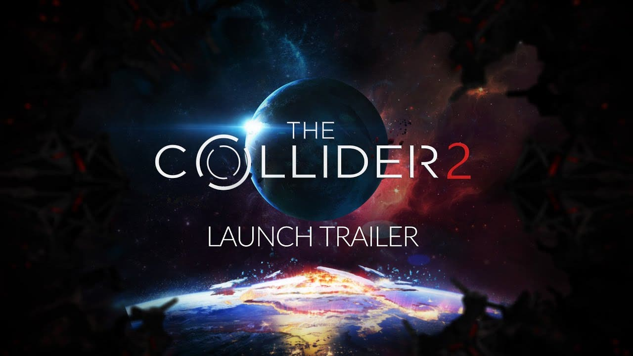 the collider 2 makes contact wit