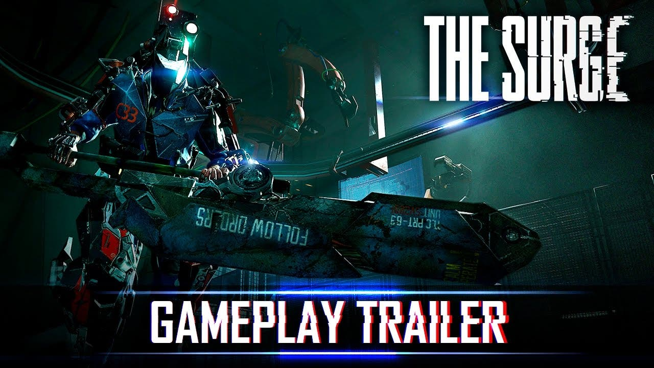 the surge 4 minutes of gameplay