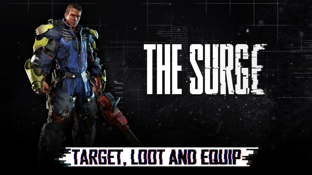 the surge target loot and equip
