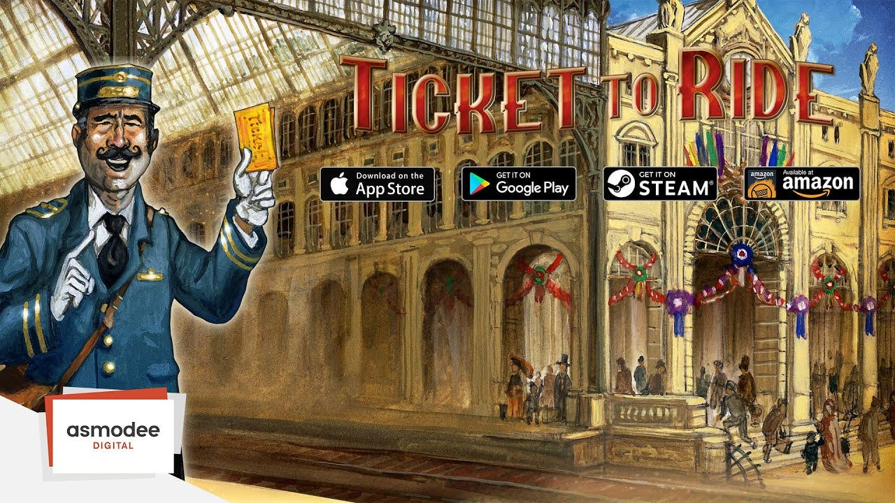 ticket to ride being updated on