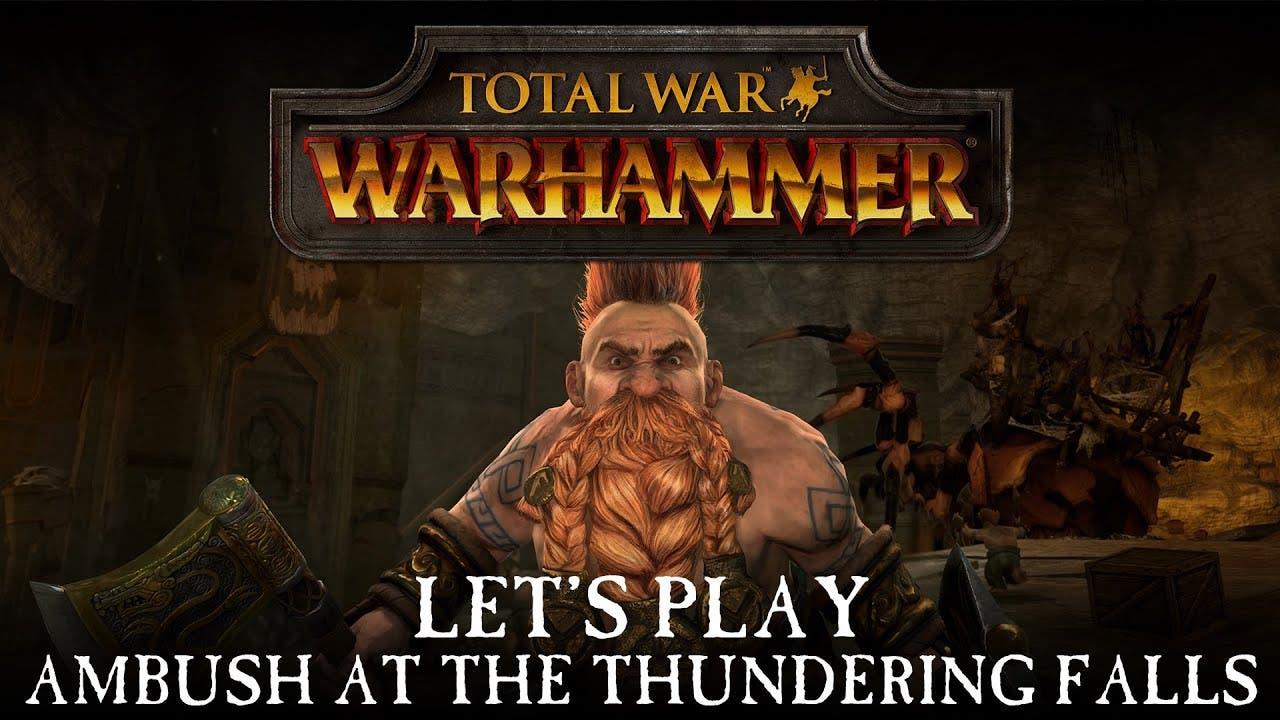 total war warhammer first gamepl