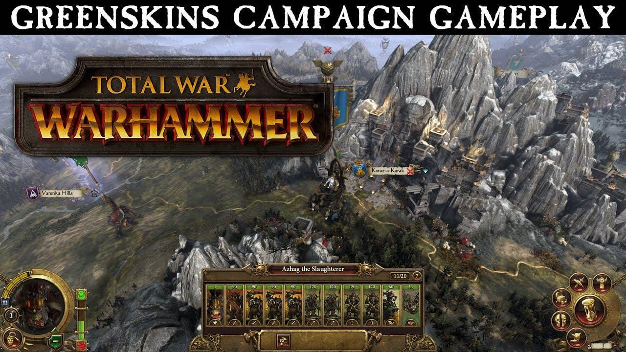 total war warhammer gameplay tra