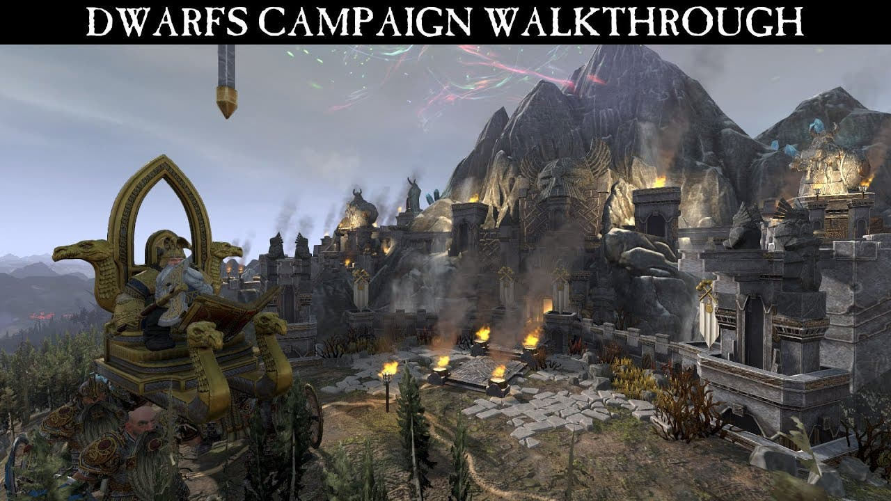 total war warhammer video shows