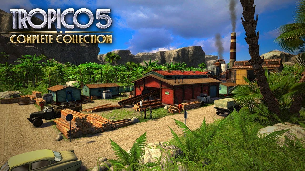tropico 5 complete collection is