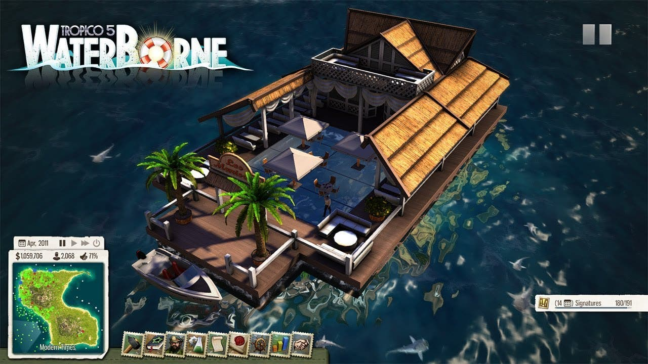 tropico 5 gets waterborne with f