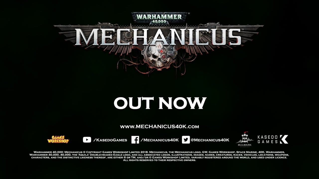warhammer 40000 mechanicus is no