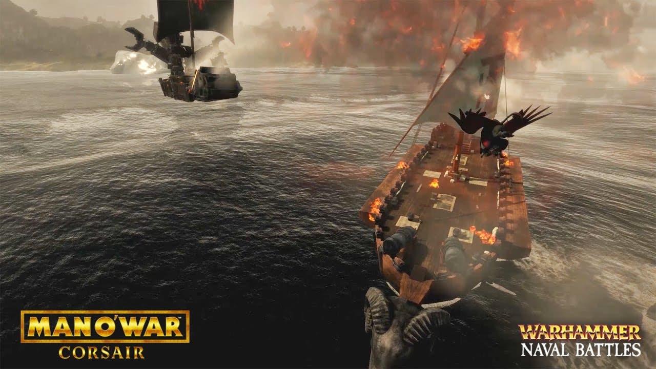 warhammer themed naval battle ga