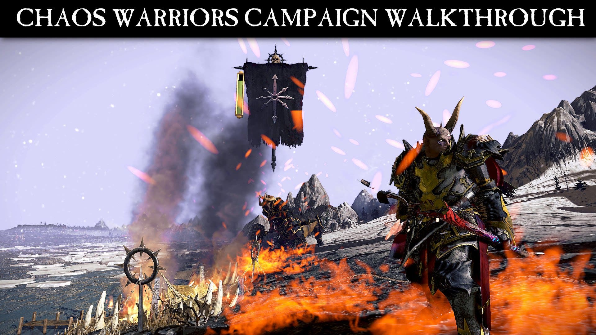 watch the chaos warriors battle