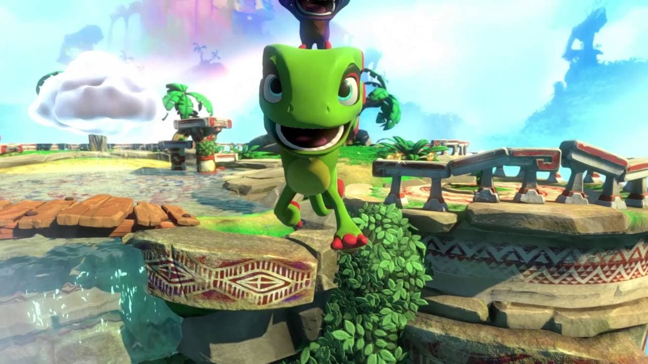 yooka laylee gets a trailer for