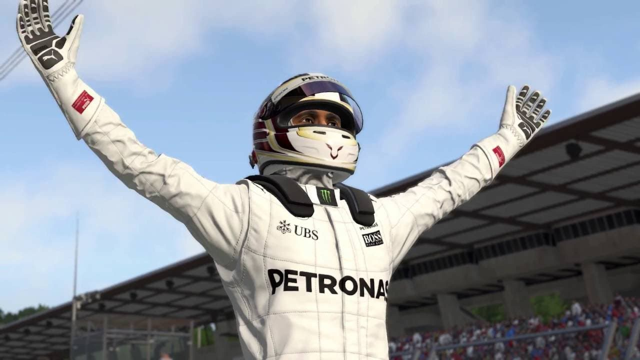 your jouney begins with f1 2016s