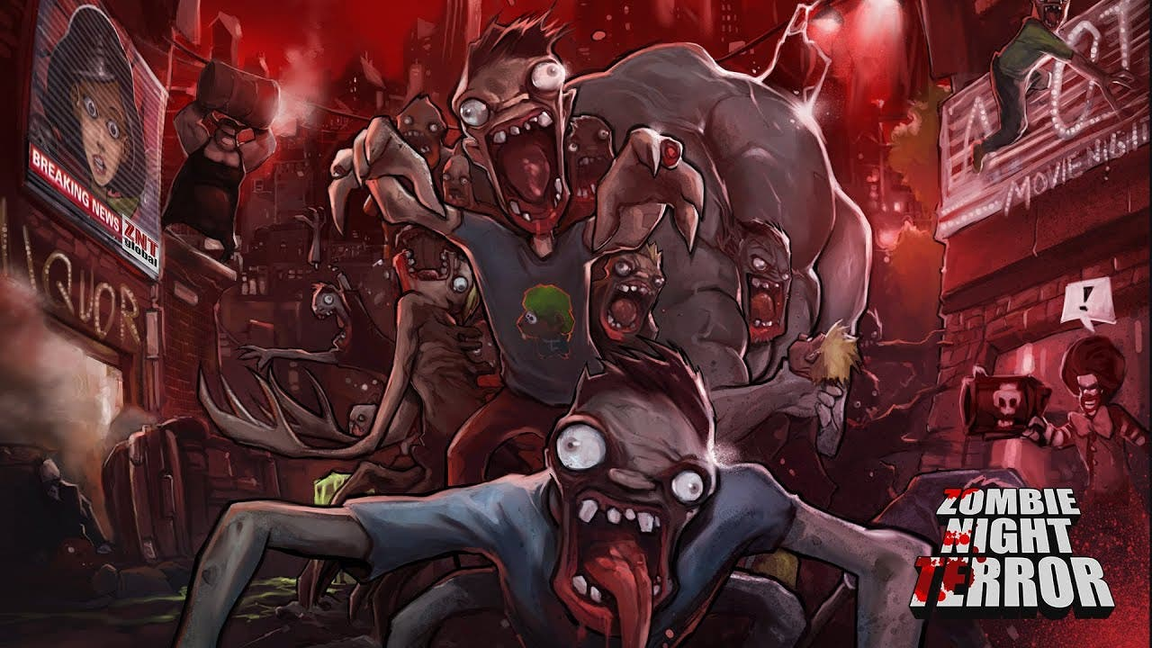zombie night terror rises from t