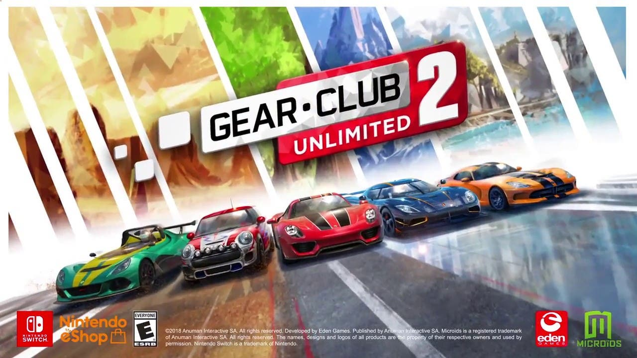 gear club unlimited 2 releases o