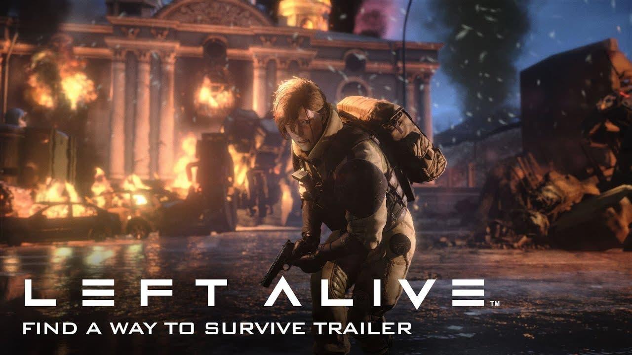 left alive gameplay trailer enco
