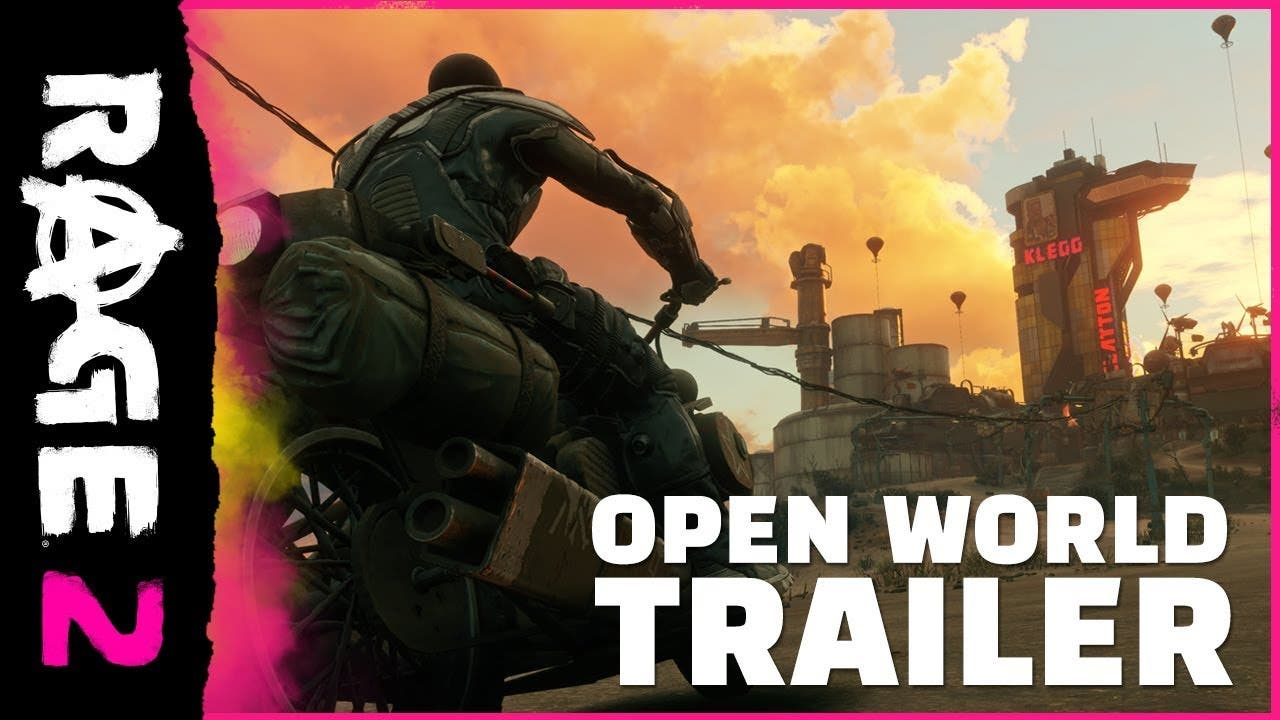 rage 2 new trailer shown at the