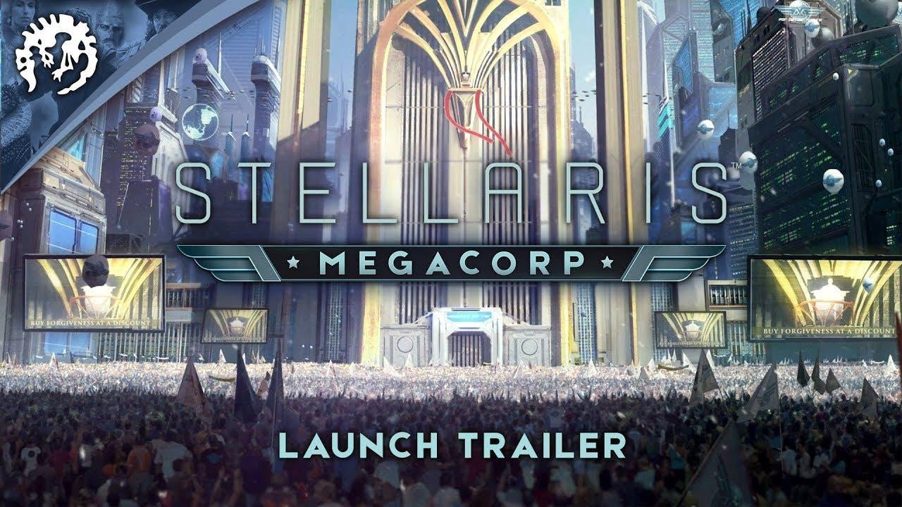 stellaris megacorp expansion out