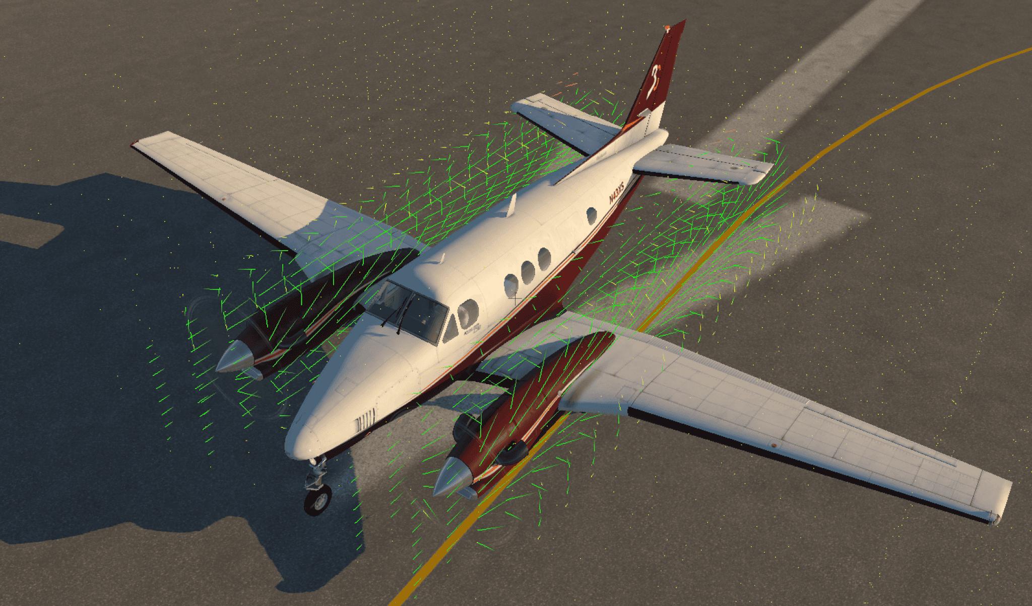 X Plane 1130 prop FM