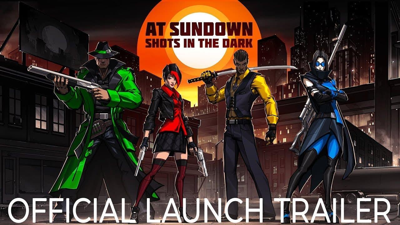 at sundown shots in the dark is
