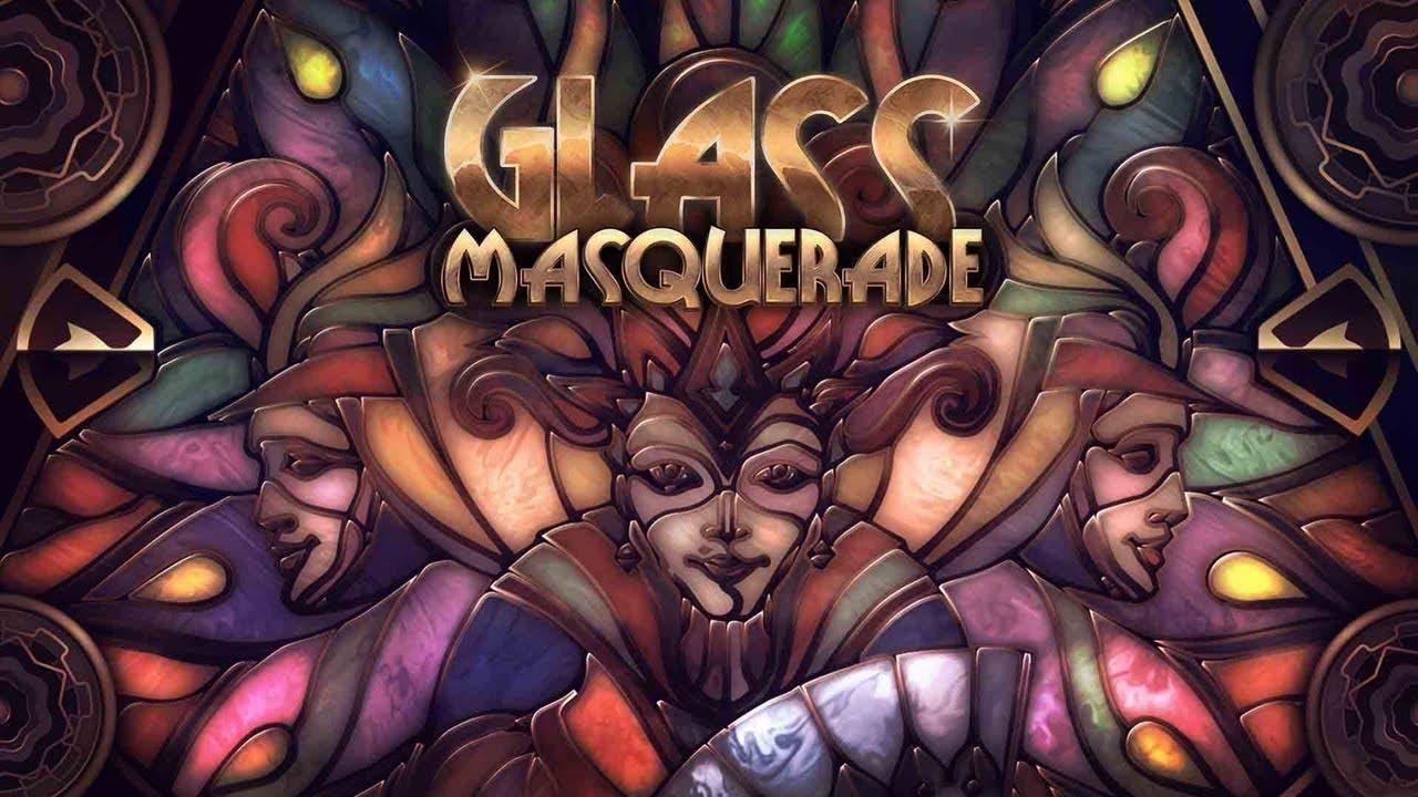 glass masquerade the artistic ji