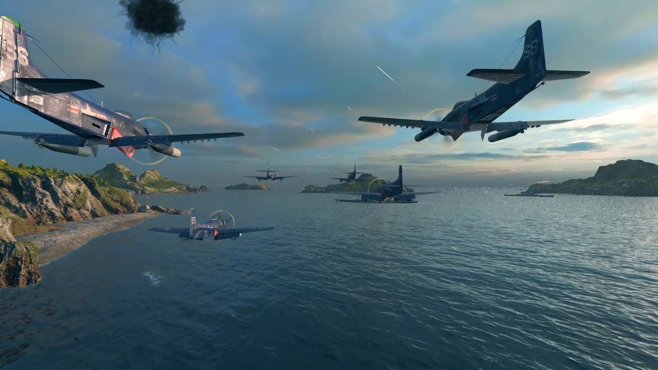 world of warships begins the lun