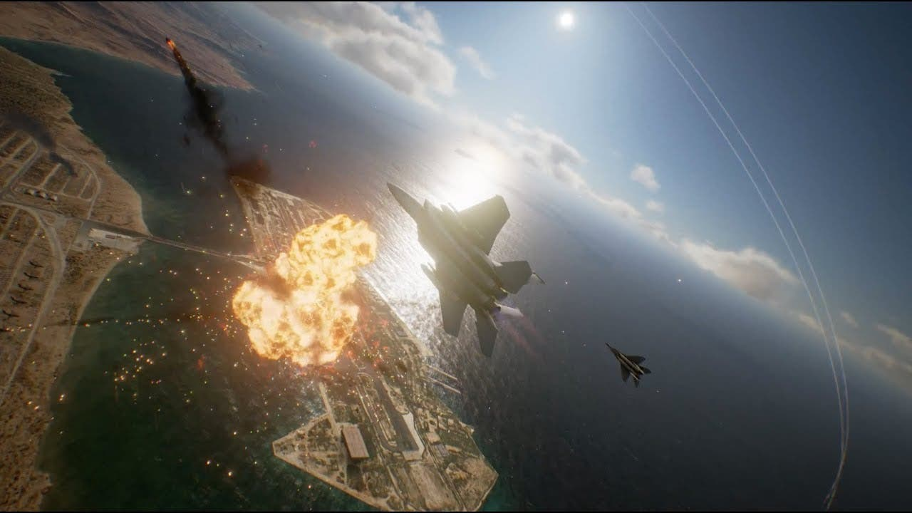 ace combat 7 skies unknown trail