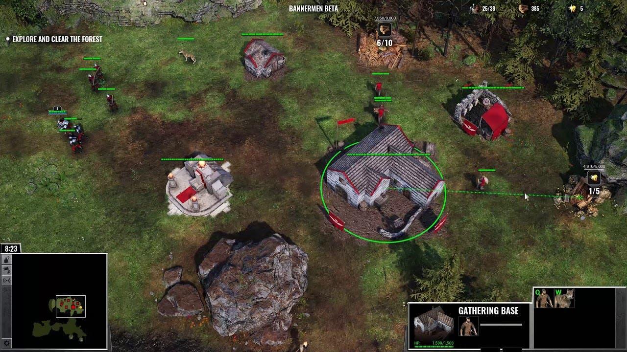 bannermen new gameplay trailer g