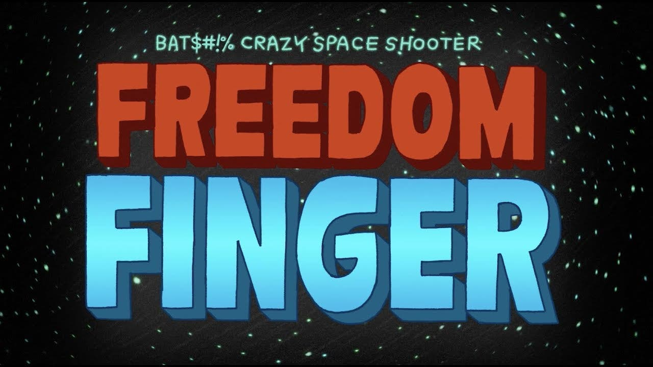 freedom finger is a shmup where