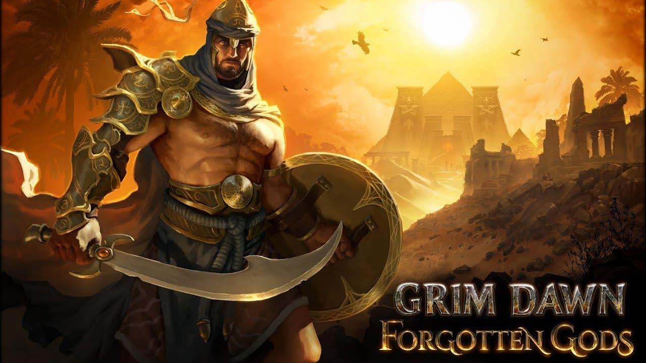 grim dawn forgotten gods is the