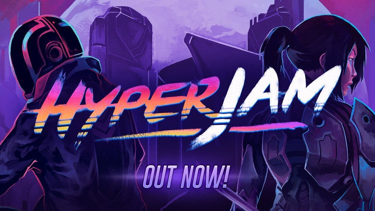 hyper jam the synthwave and neon