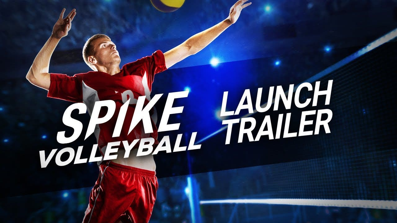 spike volleyball is available on